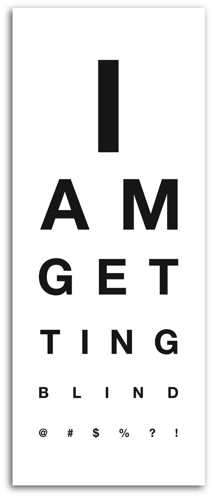 Eye charts similar