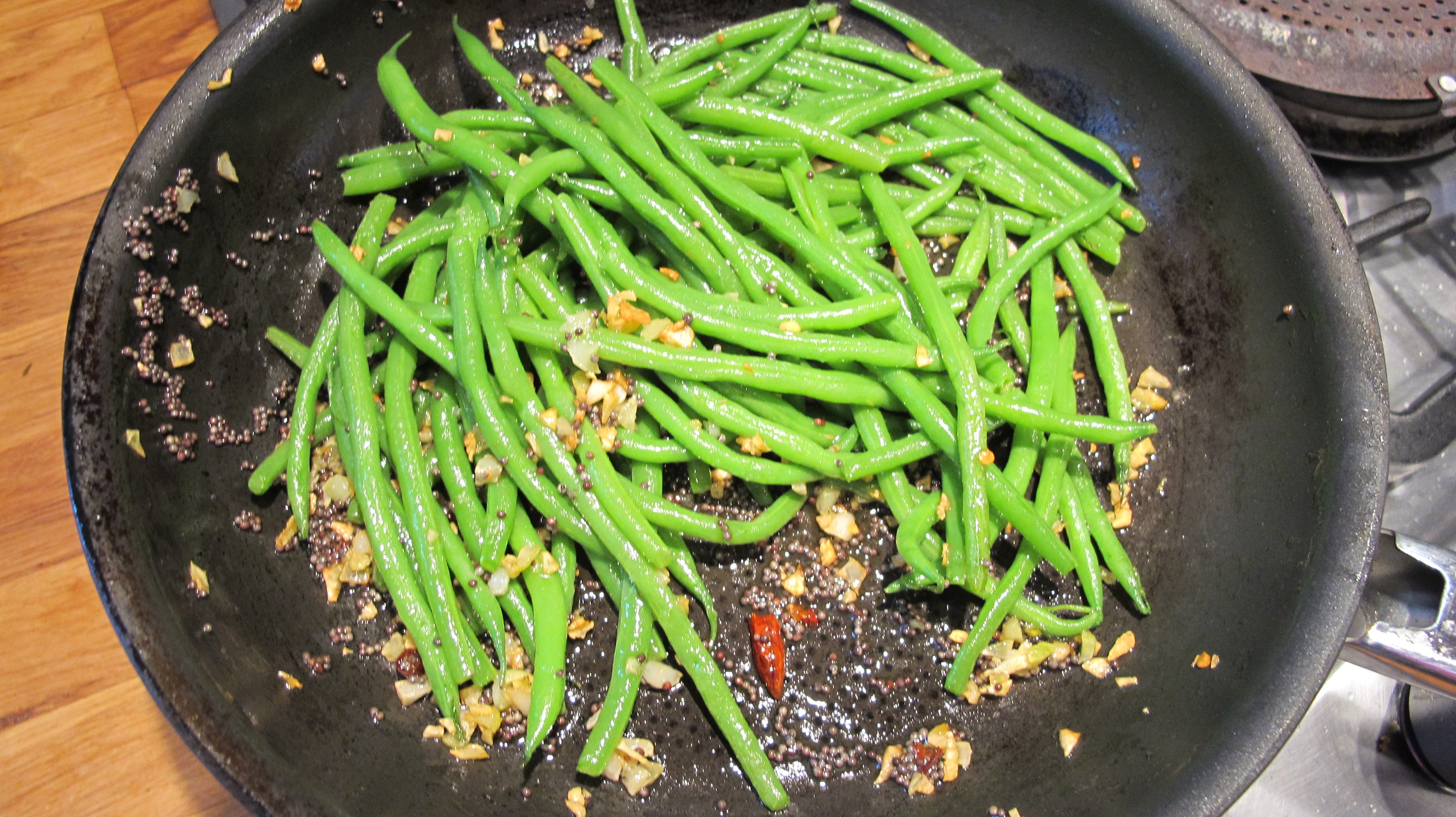 spicy beans