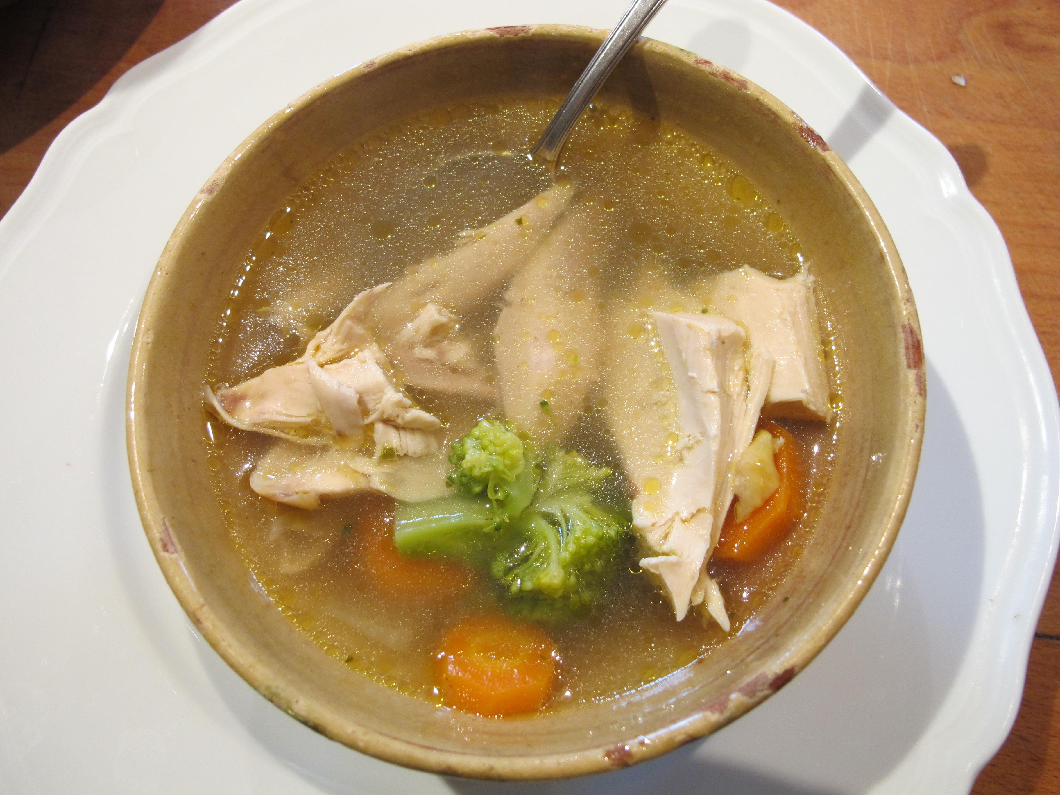 chicken broth | Robin Ellis