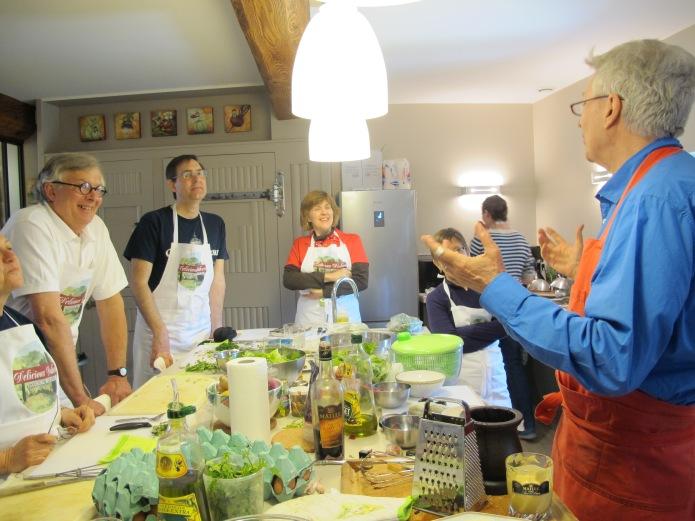 Cooking Workshop Robin Ellis