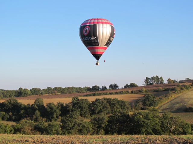 Hot air balloon rides are possible--weather permitting, at extra cost.