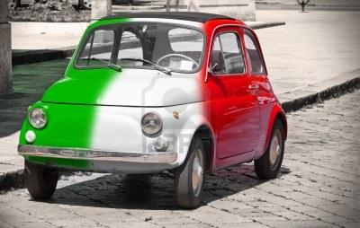 14333412-italian-vintage-car