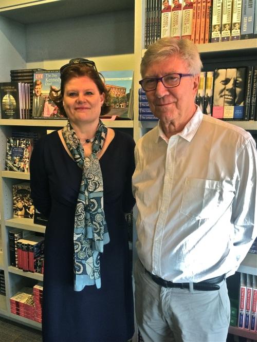 With Nicola Longford